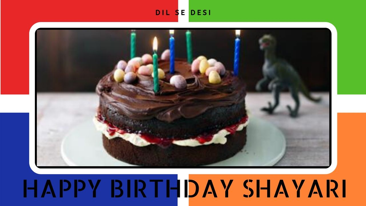 Happy Birthday Shayari, Quotes or Status in Hindi