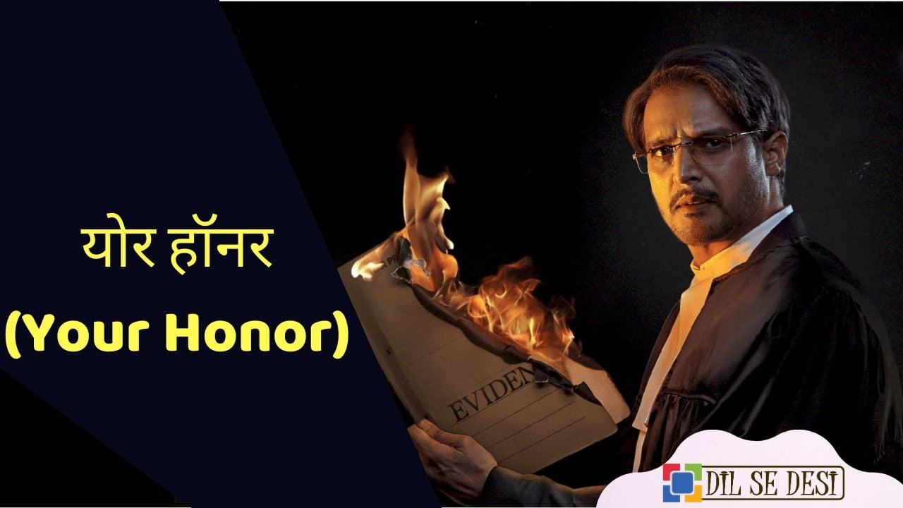 Your Honor (Sony Liv) Web Series Details in Hindi